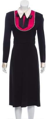 Gucci Embellished Bib Dress w/ Tags