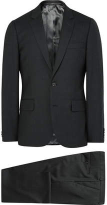 Paul Smith Grey A Suit To Travel In Soho Slim-Fit Wool Suit - Charcoal