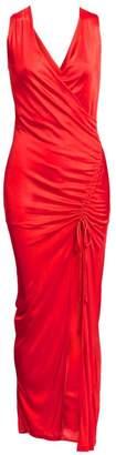 Each X Other Side Slit Jersey Column Dress