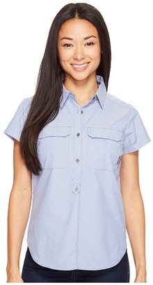 Columbia - Pilsner Peak Novelty Short Sleeve Shirt Women's Short Sleeve Pullover $60 thestylecure.com