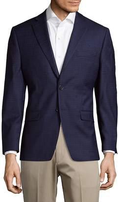 Calvin Klein Men's Window Slim Fit Wool Jacket