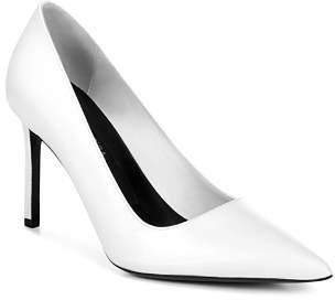 Via Spiga Women's Nikole Leather Pointed Toe High-Heel Pumps