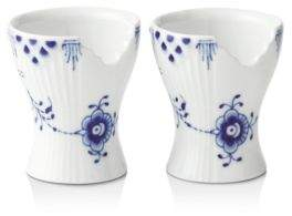 Royal Copenhagen Blue Elements Egg Cup, Set of 2