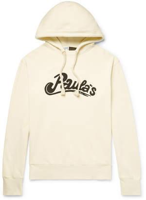 Loewe + Paula`s Ibiza Printed Loopback Cotton-Jersey Hoodie