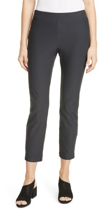 Eileen Fisher Slim Zip Ankle Knit Pants