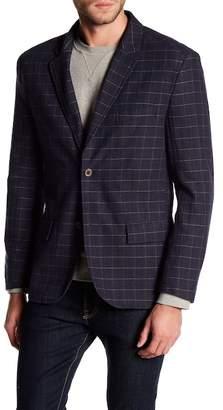 Jachs Herringbone Plaid Sport Coat