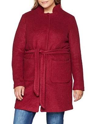 Junarose Women's Jrhasla Ls Coat Rumba Red, (Size: Oversize S)