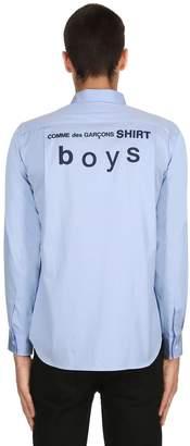 Comme des Garcons Cdg Slim Fit Cotton Poplin Shirt