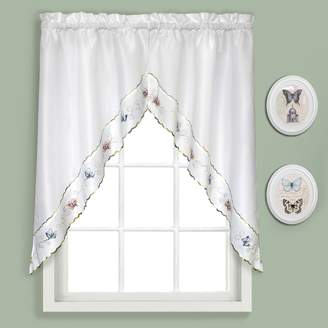 Co United Curtain Butterfly Swag Curtains - 52'' x 36''