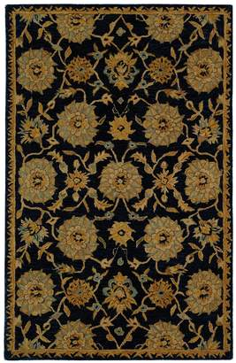 Safavieh Anatolia Lyneete Framed Floral Wool Rug - 8' x 10'