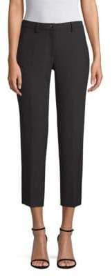 Versace Straight-Leg Ankle Pants