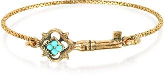 Alcozer & J Turquoise Key Bracelet