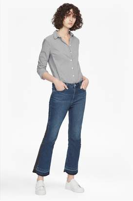 French Connection Kick Crop Stretch Denim Jeans