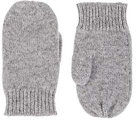 Barneys New York Kids' Cashmere Mittens - Gray