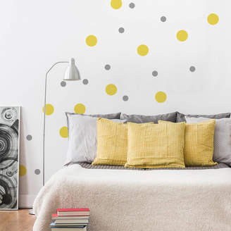 SirFace Graphics Peel And Stick Polka Dots Wall Sticker