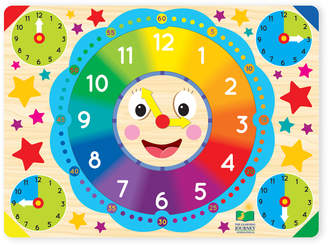 The Learning Journey 12-Piece Lift & Learn Clock Puzzle