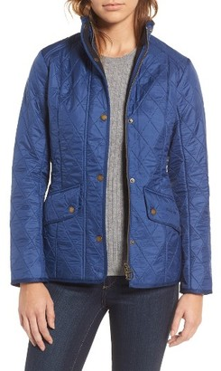 Women's Barbour 'Cavalry' Quilted Jacket $279 thestylecure.com