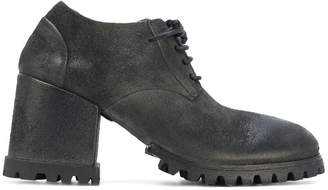 Marsèll ridged sole lace-up boots