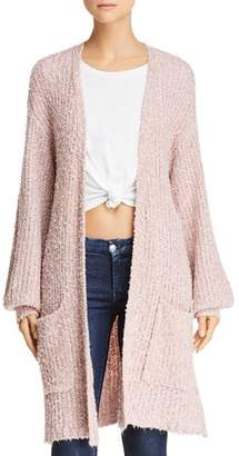 BB Dakota Coffee Date Long Cardigan