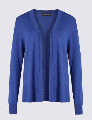 6bcfe36d09 at Marks and Spencer · M S Collection Open Front Long Sleeve Cardigan