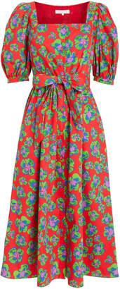Borgo de Nor Corin Poplin Printed Dress