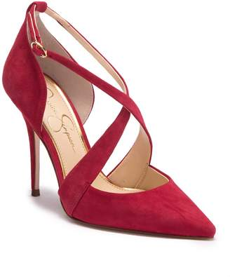 Jessica Simpson Wixen Cross Strap Pump (Women)