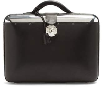 Lee Passavant And No. 25 Aluminium Shell Briefcase - Mens - Black