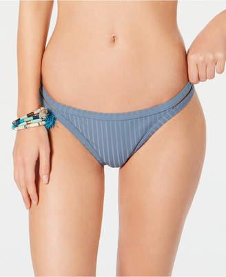 Roxy Juniors' Ribbed Strappy-Side Bikini Bottoms Women Swimsuit