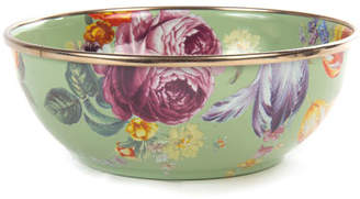 Mackenzie Childs MacKenzie-Childs Flower Market Green Everyday Bowl
