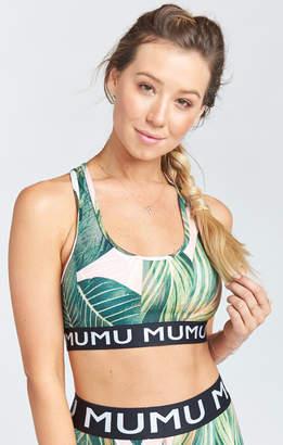 Show Me Your Mumu Maya Logo Bra ~ Peachy Palm