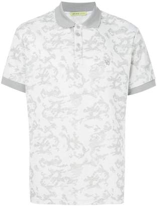 Versace camouflage polo shirt