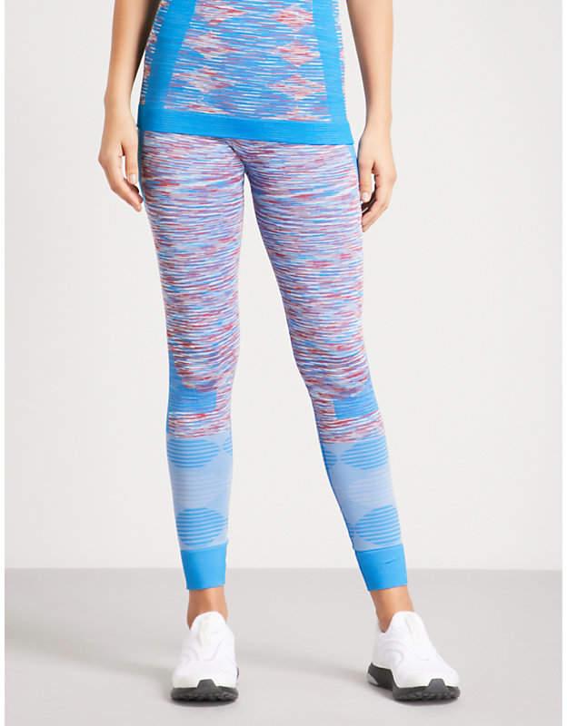 Yoga Seamless Space-Dye jersey leggings