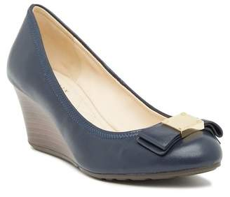 Cole Haan Tali Grand Bow Wedge Pump - Wide Width Available