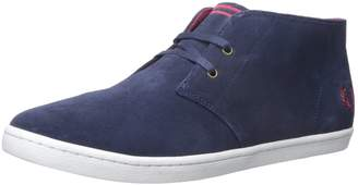 Fred Perry Men's Byron MID Suede Sneaker