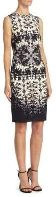 Roberto Cavalli Burnout Shell Dress