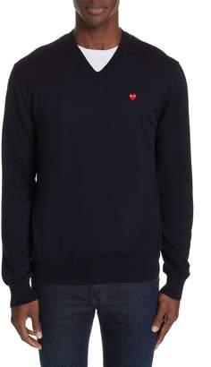 Comme des Garcons Cotton Logo Sweater