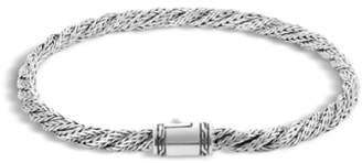 John Hardy 'Classic Chain' Slim Flat Twisted Bracelet