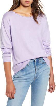 BP High/Low Roll Edge Sweater
