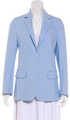 Acne Studios Long Sleeve Linen-Blend Blazer