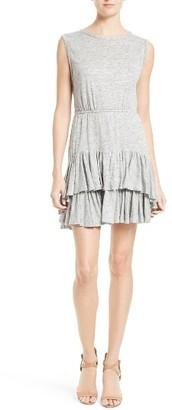 Women's Rebecca Taylor Linen Jersey Sheath Dress $295 thestylecure.com