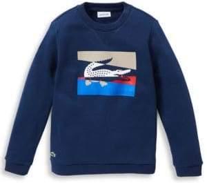 Lacoste Little Boy's& Boy's Graphic Sweatshirt