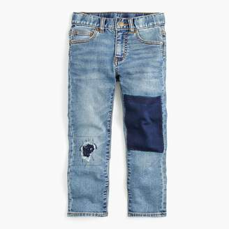 J.Crew Boys' halfpipe wash runaround jean in slim fit