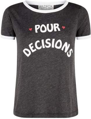 Wildfox Couture Pour Decisions T-Shirt