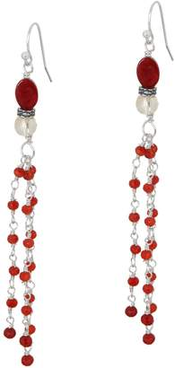 Jodie M. Bristol Fringe Drop Earrings