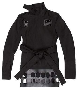 Rick Owens Vicious Laser-Cut Jacket