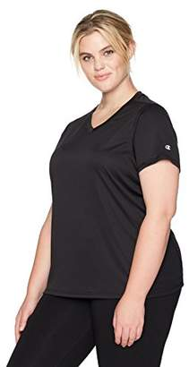 Champion Women's Plus Size Double Dry Select Tee with FreshIQ