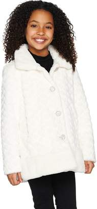 Dennis Basso Children's Faux Fur Coat
