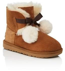 UGG Girls' Gita Pom-Pom Boots - Walker, Toddler