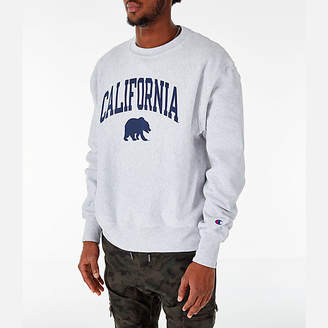 Champion Men's Cal Golden Bears College Reverse Weave Crewneck Sweatshirt