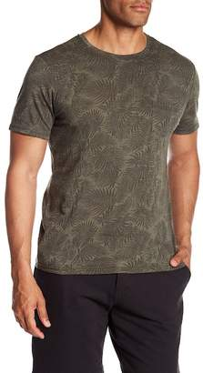 Slate & Stone Patch Pocket Palm Print Tee